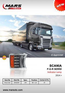 Scania P-G-R Serisi 2014 Indicator-Lamp